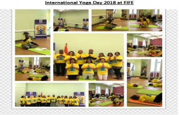 International Day of Yoga 2018