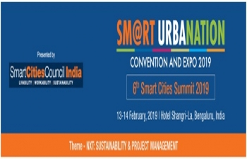 Invitation to be a part of India's Leading Smart City Convention and Expo in 2019