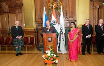 26th January 2019- 70th Republic Day Reception at the Edinburgh City Chambers