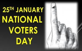 National Voters Day 25 January 2019.