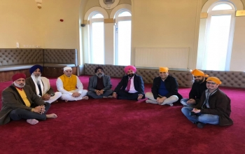 On the auspicious day of Bandi Chorr Diwas, Consul General Mr. Hitesh Rajpal visited Edinburgh Gurudwara to be part of the celebrations.