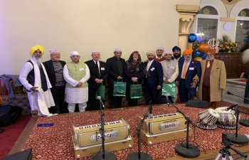 Celebrated 550th Prakash Parv of Shri Guru Nanak Dev Ji at Guru Nanak Gurdwara, Edinburgh