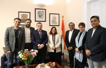 Consul General Mr Hitsh Rajpal had fruitful discussion on 17 January 2020 with the Confederation of Indian Industry delegates from India regarding synergies and opportunities for enhancing bilateral trade & investment for mutual benefit.