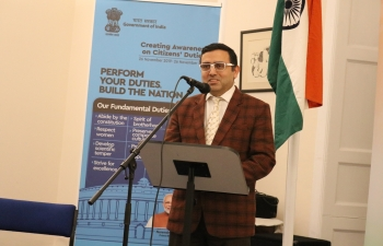 Consulate General of India conducted the first session out of 4 on 'Me Power Seminar' of Inner Well-Being in association with Brahma Kumaris UK, Edinburgh. Welcoming all, Consul General Hitesh Rajpal spoke about significance of Indian traditional systems of health, well being & fitness.