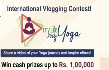 """My Life My Yoga"" Video Blogging Competition"