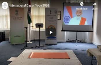 Celebration of 6th Internatinal Day of Yoga 2020