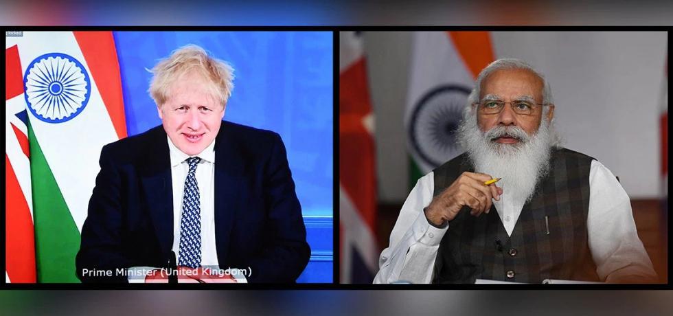 Prime Minister held a virtual summit with Boris Johnson, Prime Minister of United Kingdom