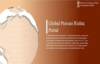 GoI has launched a Global Pravasi Rishta Portal with the objective to establish a network between the members of Indian diaspora & the Indian Mission abroad.