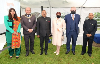 Celebration of 75th Independence Day of India at Consulate General of India