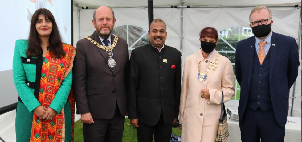 Celebration of 75th Independence Day of India at Consulate General of India, Edinburgh