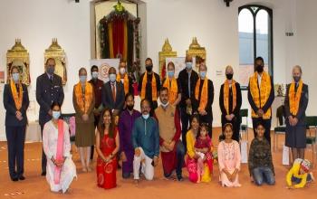 Rakshabandhan Celebration at Hindu Mandir, Edinburgh