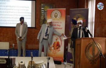 40th anniversary celebration of Guru Nanak Sikh Temple, Otago Street, Glasgow.
