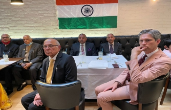 Celebration of India's Independence function organised by the Association of Indian Organisations in Glasgow on 30 August.
