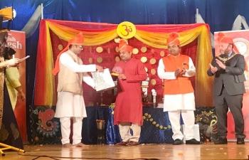 Ganesh Chaturthi celebration organised by Scottish Association of Marathi Regional Art and Traditions, Scotland on 12 September 2021